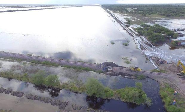 La superficie inundada en Santa Fe es de aproximadamente 3 millones de hectáreas, según datos del Centro Regional de INTA de esa provincia.