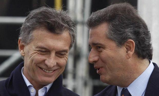 Macri y Etchevehere.