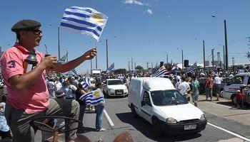 Se profundiza la protesta del campo uruguayo