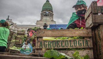 """El """"otro campo"""" invitó a Domínguez a un acampe frente al congreso: """"Necesitamos democratizar la tierra"""""""