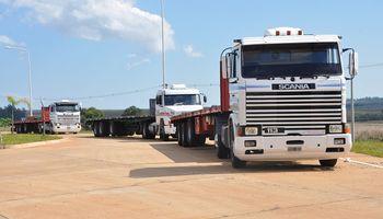 Coronavirus: comienzan a vacunar conductores de camiones en Misiones