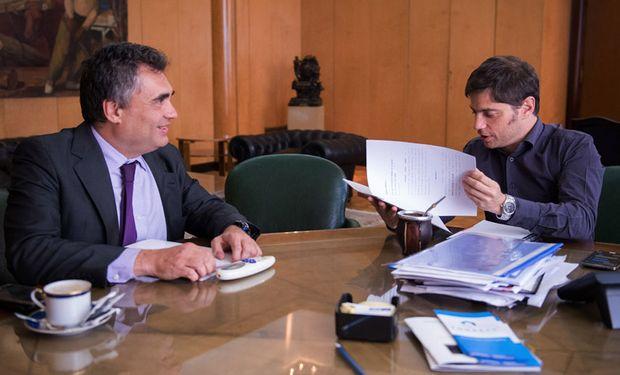 Exportadores agropecuarios volverán a sentarse con el ministro de Economía, Axel Kicillof, y el titular del BCRA, Alejandro Vanoli.