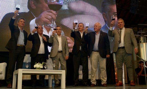 El ministro de Agorindustria junto a gobernadores  presenciaron la edición de la Vendimia, organizada por Bodegas de Argentina.