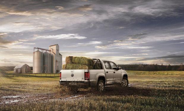 """La mayor parte de las camionetas fueron adquiridas con créditos de """"inversión productiva""""."""