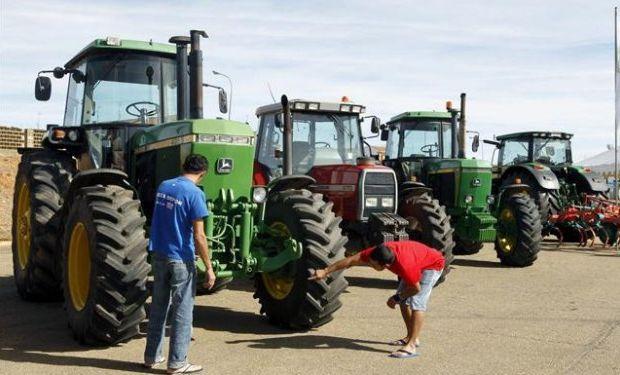 Maquinaria agrícola en crecimiento.