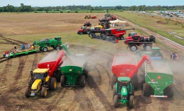 Todos los segmentos de maquinarias agrícolas registraron una caída de ventas en el primer trimestre