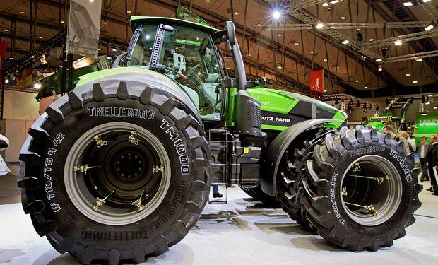 Agritechnica. La feria alemana, con maquinarias para el agro.