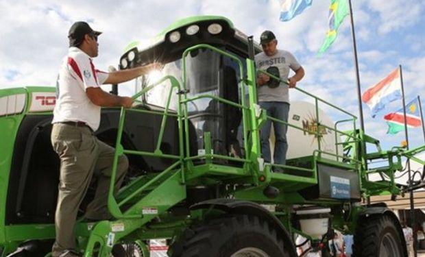 NUEVO CONTEXTO. Despegaron las ventas de maquinaria en Expoagro. Foto:LA NACION/Santiago Hafford