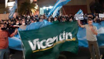 Cacerolazo contra el avance del Gobierno sobre Vicentin se sintió en todo el país