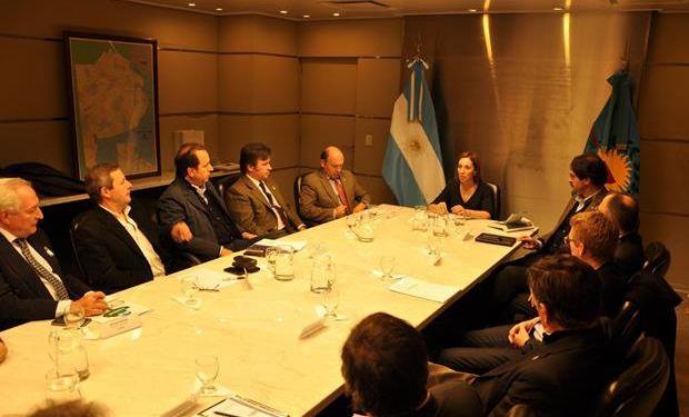 Le prometieron apoyo por la coparticipación para Buenos Aires.
