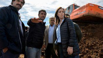 Vidal anunció créditos, beneficios impositivos y obras para el sector agropecuario