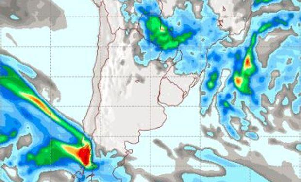 Pronóstico de lluvias para el viernes 5 de mayo.