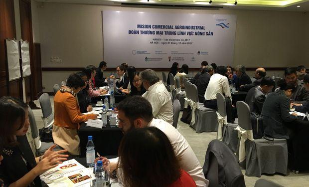 Una delegación argentina viajó a Vietnam para generar una relación comercial.