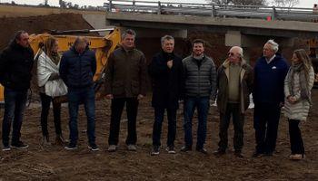 """Macri, con tamberos y agricultores: inundaciones y las obras para """"seguir haciendo"""""""