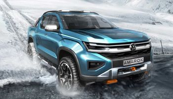 Volkswagen presentó el boceto de la nueva Amarok que fabricará Ford