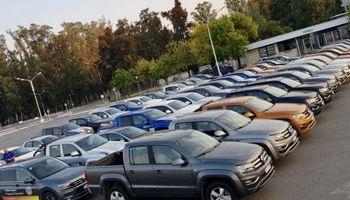 Volkswagen puso a disposición 70 unidades de su flota para combatir al coronavirus