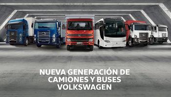 Volkswagen Camiones y Buses presentará toda su gama en Expo Transporte 2018