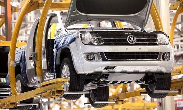 Planta de fabricación de Volkswagen en Argentina.