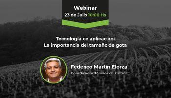 #AgrofyNewsWebinars: para las aplicaciones, por qué el tamaño de la gota importa