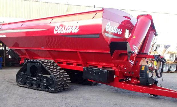 Cestari presenta la nueva tolva S6 de 44.000 litros en La Rural.