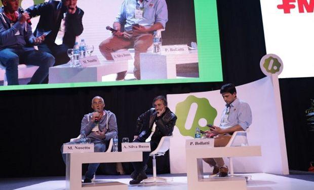 Ingeniero de Universidad de Buenos Aires, Adrián Silva Busso y de Marcelo Nosetto, Ingeniero Agrónomo (UNER).