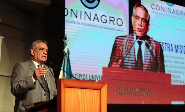 """Carlos Iannizzotto presentó la agenda del campo 2020: """"En esta Argentina no hay más lugar para confrontaciones""""."""
