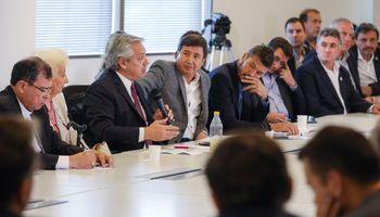 Fernández convocó a un encuentro por el plan Argentina contra el Hambre para el lunes