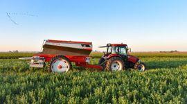 Calidad de aplicación de fertilizante sólido