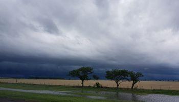 Las lluvias se desplazan lentamente hacia el norte