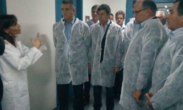 Inauguración del nuevo Laboratorio Vegetal.