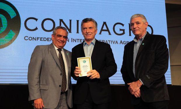 Macri recibió las propuestas de Coninagro.