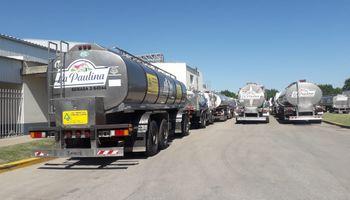 Trabajadores lecheros anticipan una segunda fase de medidas de fuerza