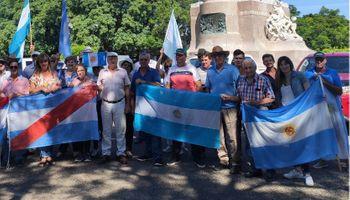Entre Ríos repudió las retenciones con un camionetazo y la Mesa de Enlace se reúne en Córdoba