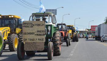 Intensas movilizaciones de productores en Pergamino y Salliqueló