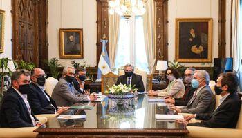 """""""No va a haber aumento de retenciones"""": la Mesa de Enlace se reunió con el Gobierno en Casa Rosada"""
