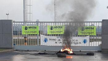 UOCRA: los puertos afectados por el bloqueo del gremio de la construcción, que extiende el reclamo