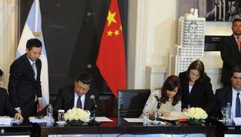 Cristina y Xi Jinping acordaron inversiones por US$ 7500 millones
