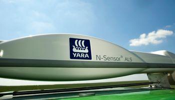 Yara presentó un dispositivo que regula automáticamente la aplicación de Nitrógeno