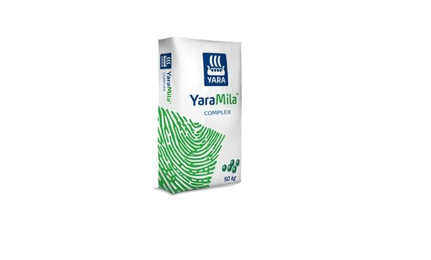 YaraMila Nitrocomplex Plus aporta nitrógeno en forma de nitrato y fósforo como polifosfato.