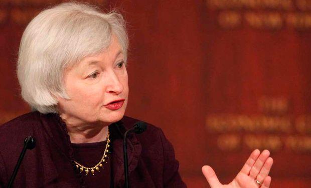 Yellen se descompuso sobre el cierre de su disertación.