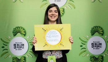 Joven argentina participó en cumbre agrícola mundial en Australia