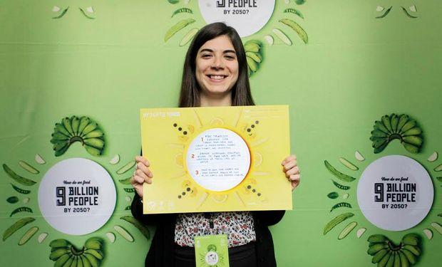 Florencia Carzon, estudiante marplatense de nutrición.