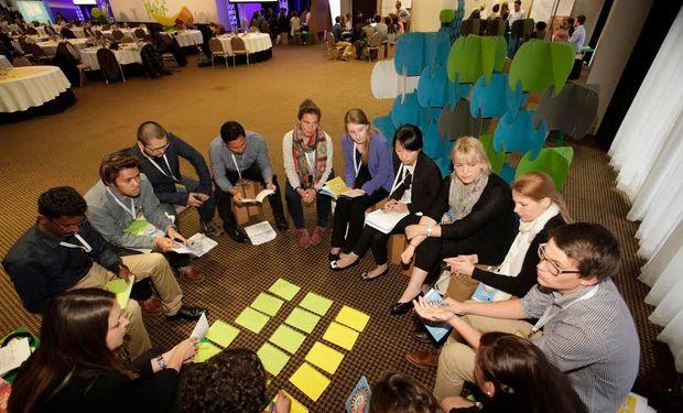 La Youth Ag-Summit se ha centrado en capturar las ideas de los jóvenes líderes.
