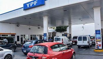 YPF aumentó los precios de los combustibles un 4,5 % en promedio
