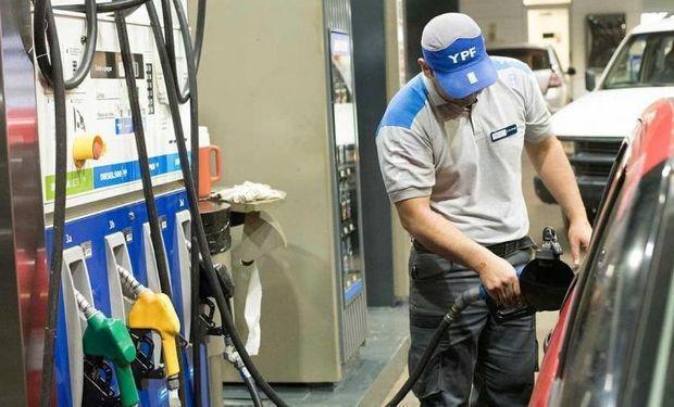 YPF aumentó el precio de los combustibles un 3,5 % en todo el país