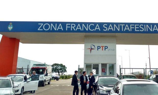 Zona franca santafesina en Villa Constitución.
