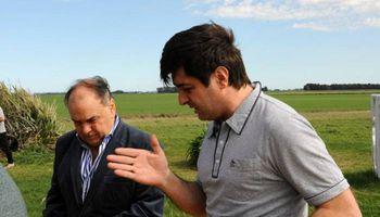 Agricultura recorrió las zonas afectadas por las inundaciones en Buenos Aires